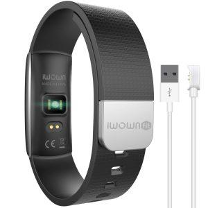 アマゾンでIWOWNfit Bluetooth スマートブレスレット 心拍数モニターが5399円⇒3960円。