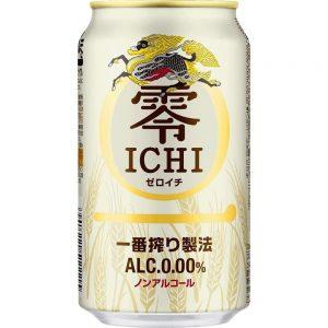アマゾンでキリン 零ICHI ノンアルコール 350ml×24本が2562円⇒2306円、1本96円。