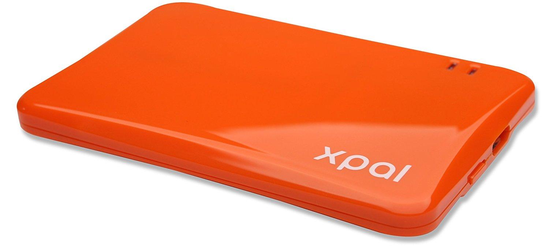 アマゾンでスリムモバイルバッテリー XP-1000ORが300円送料無料。