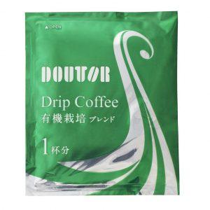 アマゾンタイムセールでドトール ドリップコーヒー 有機栽培コーヒー 7g×30Pが2381円⇒1847円、1袋62円。