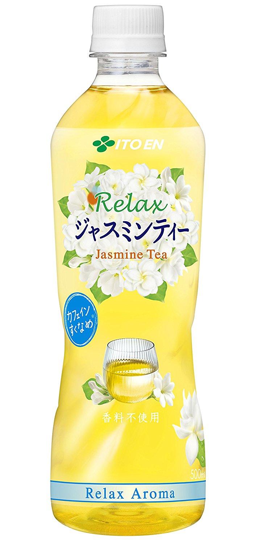 アマゾンで伊藤園 Relax ジャスミンティー 500ml×24本が1600円、1本67円。