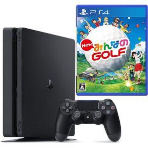 アマゾンで PlayStation 4 ジェット・ブラック 500GB (CUH-2000AB01) +ドラゴンクエストXI 過ぎ去りし時を求めて、New みんなのGOLFが2割引きで価格コムより安く販売中。