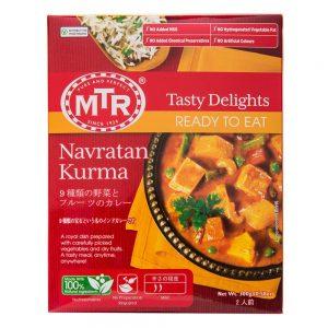 アマゾンでインドの本格カレー MTR  300g × 20個が6696円⇒3216円。