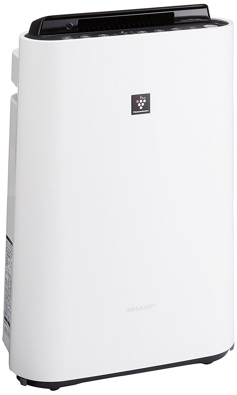 アマゾンでシャープ 加湿空気清浄機 プラズマクラスター 13畳 / 空気清浄 23畳 ホワイト KC-G50-Wが15500円。