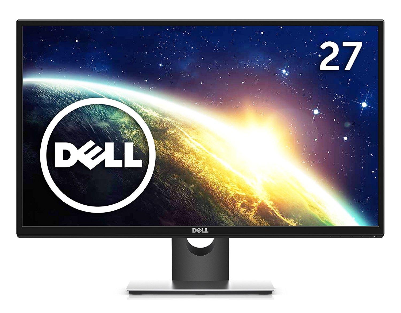 アマゾンでDell ディスプレイ モニター SE2717H 27インチ/IPS非光沢/6ms/FreeSync/HDMI,VGA/3年間保証が21980円⇒16485円。