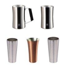 アマゾン特選タイムセールでパール金属や燕人の匠などの金属製タンブラーが最大67%OFF。