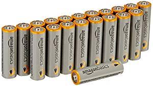Amazonベーシック アルカリ乾電池 単3形20個パックが748円から更にタイムセールで680円に値下げ。