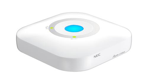 NECのAtermモバイルルーターに廉価版「Aterm HT100LN」が登場。対応バンド1,19,26で3G未対応で有線LAN付き。8/1~。