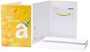 Amazonギフト券(グリーティングカードタイプ)を買ってみたら意外と良かった。有効期限は10年。
