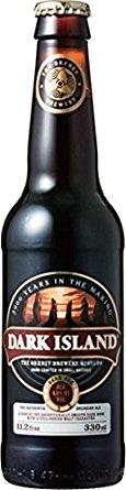 アマゾンでスコットランドビールのオークニー ブリュワリー ダーク アイランド 瓶 330mlが1572円⇒349円。