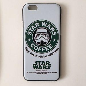 アマゾンでSTAR WARS × STARBUCKS COFFEEケース iPhone6/6S対応が2000円⇒410円。