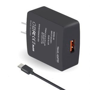 アマゾンでQuickCharge3.0対応のSanfic USB-AC電源アダプタが299円。