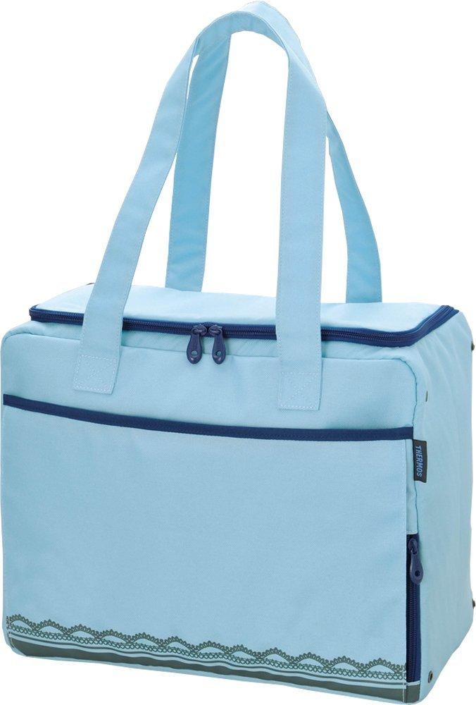 アマゾンで夏のレジャーで大活躍のサーモス 保冷ショッピングバッグ 22L ライトブルー RDL-022 LBが1250円。