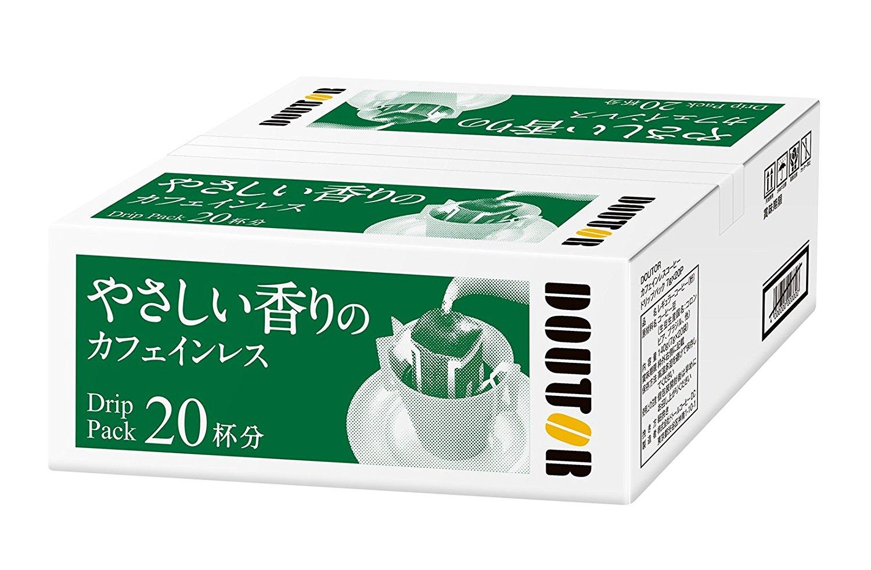 アマゾンタイムセールでドトール やさしい香りカフェインレスコーヒーが999円⇒829円。
