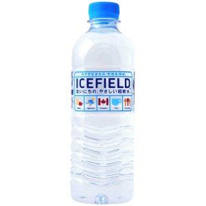 アマゾンでICEFIELD アイスフィールド カナダ天然氷河水 ミネラルウォーター 500ml×24本が3110円⇒1204円。
