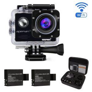 アマゾンタイムセールでAPEMAN アクションカメラ 1400万画素/4Kモデル フルHD がタイムセール中。