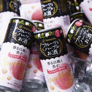 アマゾンで養命酒製造 フルーツとハーブのお酒 スパークリング 香る白桃と杏仁 250ml×30本が4979円⇒1782円、1本59円。