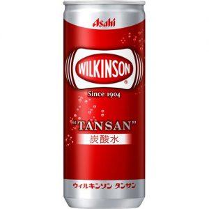 アマゾンでアサヒ飲料 ウィルキンソン タンサン 250ml×20本が1512円⇒1109円、1本55円。
