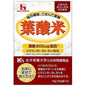 【誤表記?】アマゾンでハウスウェルネス 葉酸米× 50g×40個入が14201円⇒2220円。