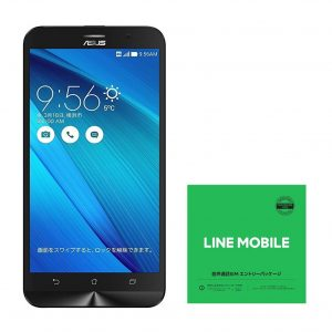 アマゾンでASUS ZenFone Go SIMフリースマートフォンが4980円でセール中。