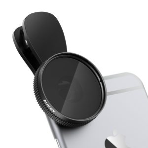 アマゾンでAUKEY 偏光レンズフィルター CPLフィルター クリップ式 PF-C1がタイムセールで投げ売り中。
