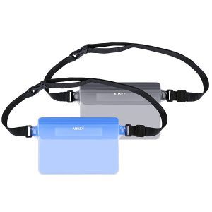 アマゾンで【2個セット】AUKEY スマホ防水ポーチ PC-T12が1499円から半額となるクーポンコードを配信中。