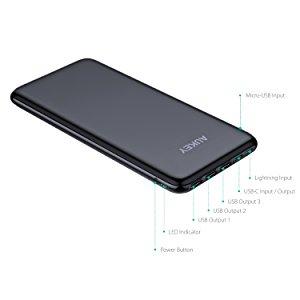 アマゾンでAUKEY 20000mAh モバイルバッテリー PB-Y14が4299円から割引クーポンコードを配信中。