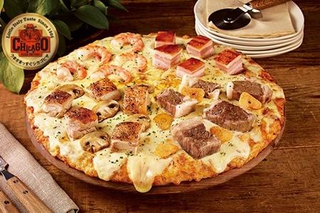グルーポンでシカゴピザ&デリータで使える4500円分のクーポンが500円で販売中。