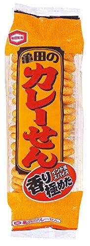 アマゾンで亀田製菓 ソフトサラダと亀田のカレーせんがタイムセール中。
