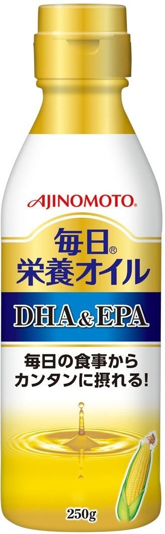 アマゾンで味の素 毎日栄養オイル DHA&EPA 250gが1071円⇒226円でセール中。
