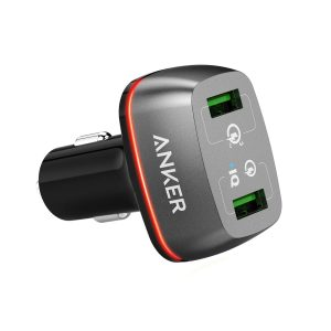 アマゾンタイムセールでAnker PowerDrive+ 2 (42W 2ポート)が1999円⇒1699円。