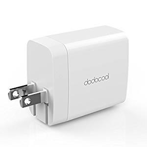 アマゾンでdodocool 2ポートUSB急速充電器 DA140が20%OFFとなる割引クーポンを配信中。~11/10。
