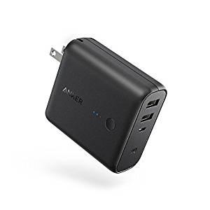 アマゾンタイムセールでAnker PowerCore Fusion 5000mAh USB急速充電器がセール中。