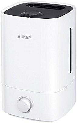 AUKEY 超音波クールミスト加湿器 タンク容量3.5L QS-3501が割引クーポンコードを配信中。