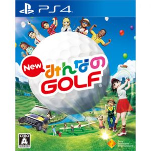 【もう売り切れたけど】ひかりTVショッピングで[PS4]New みんなのGOLFが4980円、実質94円の98%OFF。