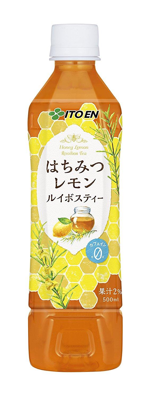 アマゾンで伊藤園 はちみつレモンルイボスティー 500ml×24本が1098円、1本46円。