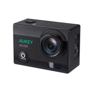 アマゾンでAUKEY AC-LC2アクションカメラが割引クーポン&タイムセール予定で最大8999円⇒6449円。