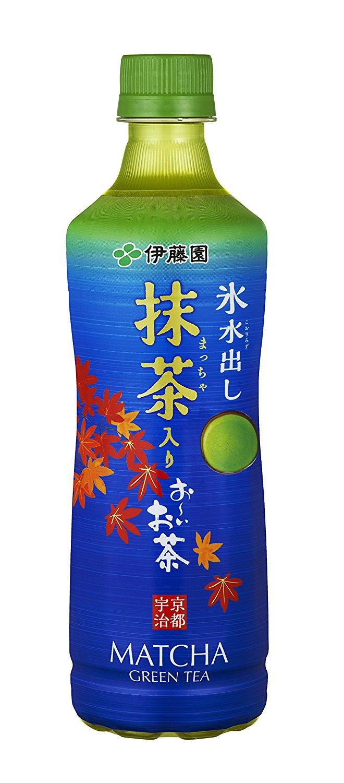 アマゾンで『伊藤園 氷水出し 抹茶入りお~いお茶525ml』×24本が2540円⇒2037円。
