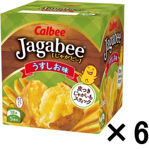 LOHACOでカルビー じゃがビー(Jagabee) うす塩味 1セット(6箱入)が948円、1個158円でセール中。