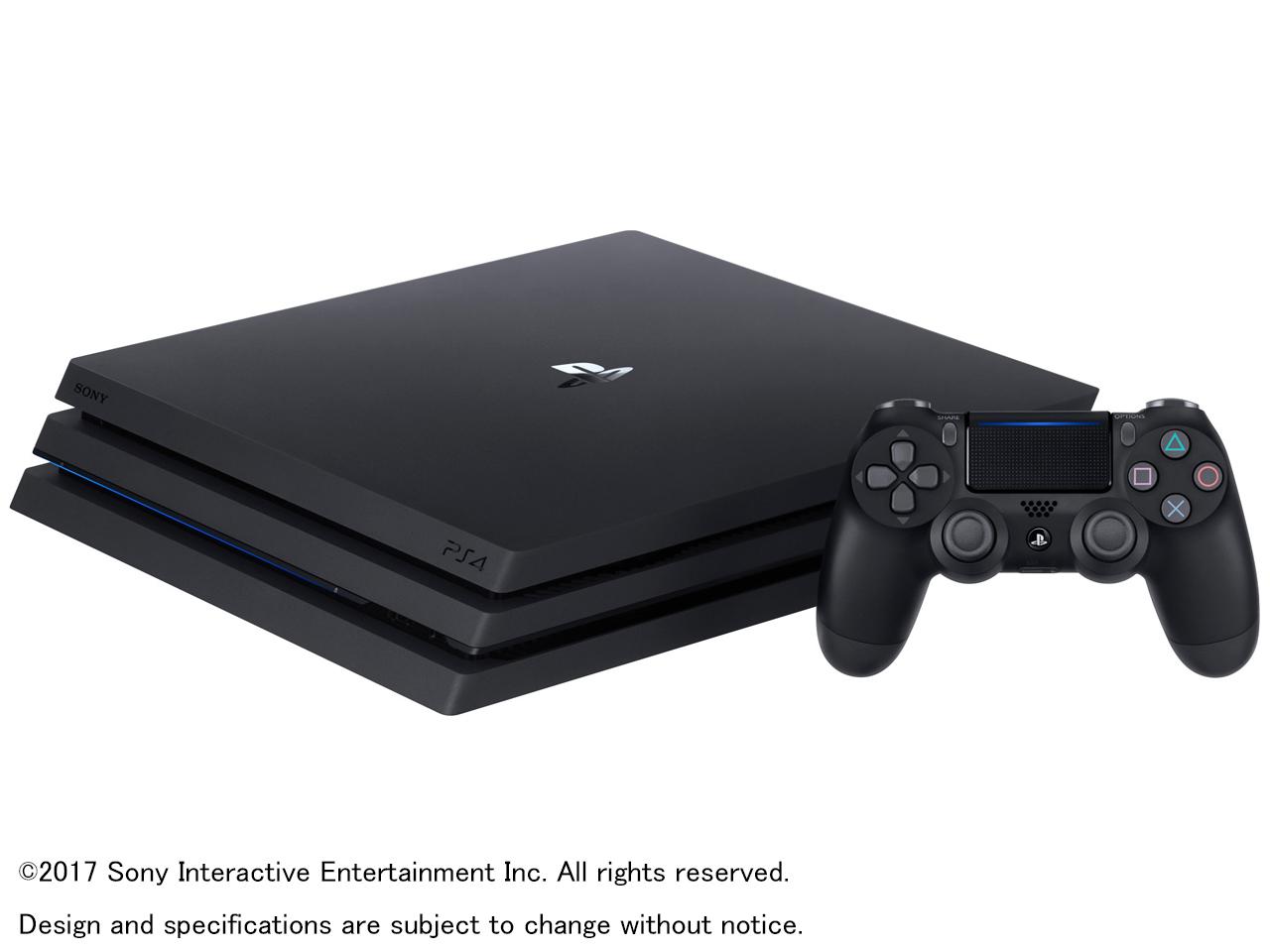 Yahoo!ショッピングでプレイステーション4 Pro HDD 1TB ジェット・ブラック CUH-7100BB01が価格コム4.4万⇒実質4万円。