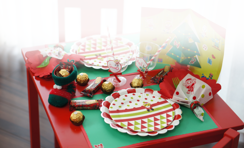 【終了】ベネッセのこどもちゃれんじで「しまじろうのパーティーグッズ」と年齢別「クリスマス特別号たいけんセット」がもれなく貰える。~11/30。