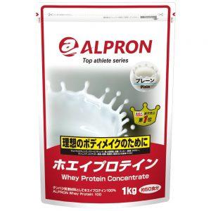 アマゾンでホエイプロテイン プレーン風味 1kg アルプロンが2533円。ザバスならば4000円で2倍のコスパ。