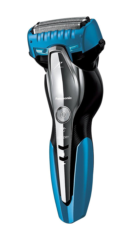 アマゾンでパナソニック ラムダッシュ メンズシェーバー 3枚刃 お風呂剃り可 青 ES-ST6N-Aが7480円。