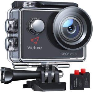 アマゾンでVictureアクションカメラ 4K WIFI 1080P 詐欺カメラが割引セール中。安物買いの銭失いをしたい人向け。