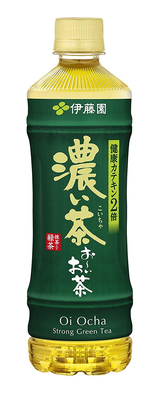 アマゾンで伊藤園 おーいお茶 緑茶、濃い茶 525ml×24本が割引クーポンを配信中。