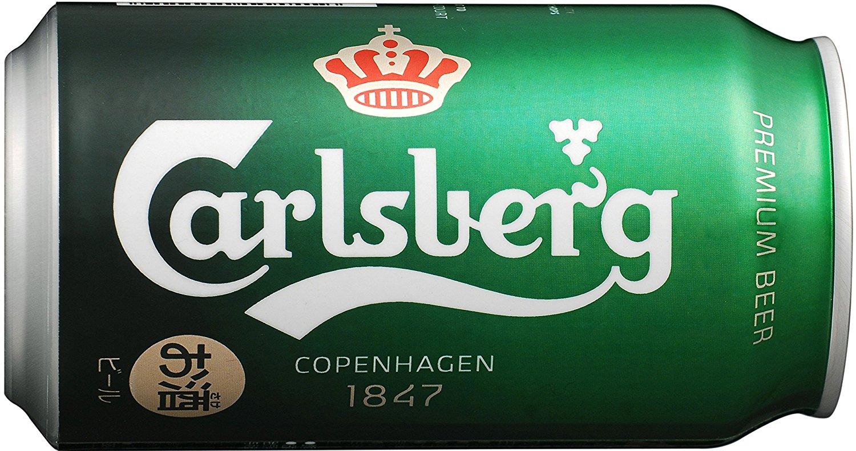 アマゾンでカールスバーグ 缶 350ml×24本が4980円⇒4731円、1本197円。