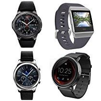 アマゾンでサムスンGalaxy GearやFitbit、Huawei watchなどのスマートウォッチが販売中。あまり役に立たない。