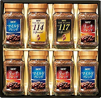 アマゾンでUCCやネスカフェ、マキシムの各種コーヒーギフトが20-30%OFF。