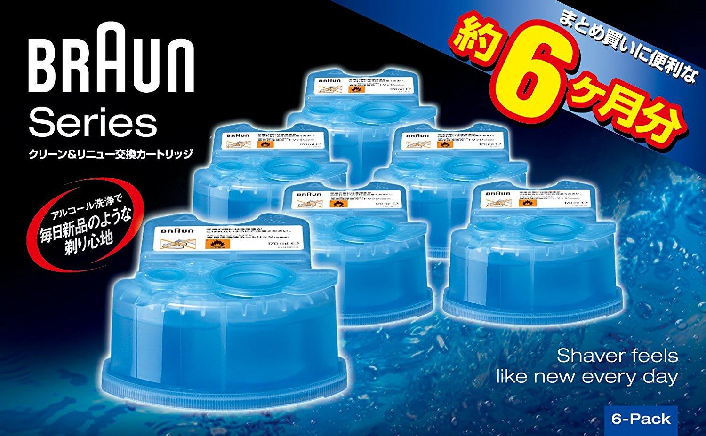 アマゾンでブラウン アルコール洗浄液 メンズシェーバー用 6個入り CCR6 CRの割引クーポンを配信中。