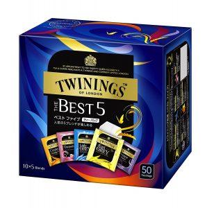アマゾンで片岡物産の紅茶「TWININGS」が100円OFFやら50%OFFクーポンを配信中。